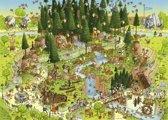 Heye legpuzzel Black Forest Habitat van Degano 1000 stukjes