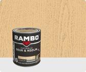 Rambo Deur & Kozijn pantser lak hoogglans transparant kleurloos 0000 750 ml