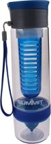 Summit - Drinkfles - Dual Infuser - BPA vrij - 750ML - Blauw