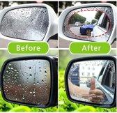 Buitenspiegel Folie Stickers - 2 STUKS - Ovaal - 150x100 + installatiekit