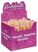 Pecker Sipping Straws