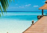 W+G Behang Ideal Decor Mural Paradise Beach
