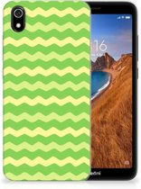 TPU bumper Xiaomi Redmi 7A Waves Green