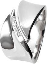 Simply Sparkle Pave Leaf Ring