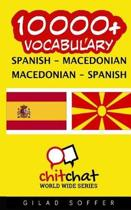 10000+ Spanish - Macedonian Macedonian - Spanish Vocabulary