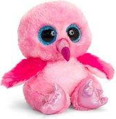 Keel Toys pluche roze Flamingo knuffel 25 cm - Flamingos  knuffeldieren - Speelgoed voor kind