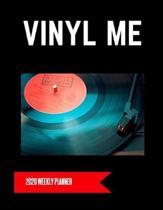 Vinyl Me 2020 Weekly Planner