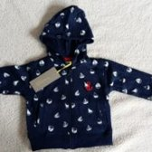 Tricky Tracks - jongens sweater maat 74