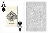 MODIANO CARDS TEXAS CARDS Grijs 100% PLASTIC JUMBO INDEX PLAYING CARDS