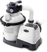 Intex Zandfilterpomp Wit 220-240v 4000 Liter Per Uur - Filterpomp