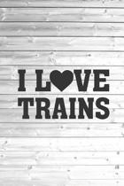 I Heart Love Trains - State Pride Journal