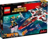 Lego 76049 Heroes Aven Jet