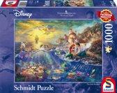 Disney Kleine Zeemeermin, Arielle, 1000 pcs Legpuzzel
