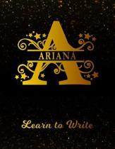 Ariana Learn to Write