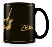 PYRAMID The Legend of Zelda kopje Zwart, Goud Universeel 1 stuk(s)