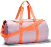 Under Armour Favorite Duffel Dames Rugzak - Pink Fog - Maat OSFA