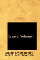 Essays, Volume I