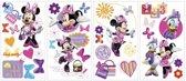 Disney Minnie Mouse - Muurstickers - Multi