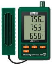 SD800: CO2 monitor, thermometer en hygrometer met datalogger