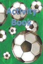 Activity Book: Draw and Write Journal Notebook with Prompts for Boys