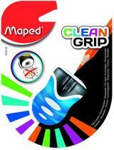 Clean Grip potloodslijper 1-gaats - blauw