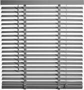 Intensions - Jaloezie Hout - 50mm - Uni FSC Donkergrijs - 60x130cm