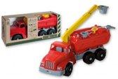 Mega Brandweerauto met Waterspuit -  Speelgoed Brandweerwagen