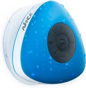 Avanca Bluetooth Waterdichte Wireless Speaker - Douche Speaker - Waterproof - Blauw
