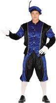 Pieten kostuum volwassenen blauw (XL)