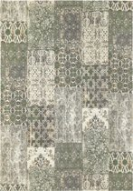 Vintage patchwork - Treating Taupe - 70x140 - Olive
