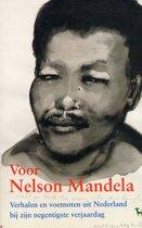Voor Nelson Mandela