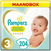 Pampers New Baby - Maat 3 Maandbox 204 luiers