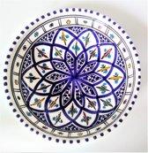 Handgemaakte authentieke Marokkaanse schaal