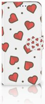 Samsung Galaxy A50 Telefoon Hoesje Hearts