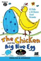 The Chicken & the Big Blue Egg Spanish!
