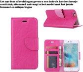 Xssive Hoesje voor Archos 50B Neon Boek Hoesje Book Case Pink