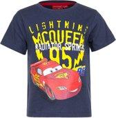 Cars T-shirt 128 cm blauw