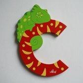 Sevi - Houten Dieren Letter C - rood