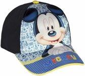 Mickey Mouse petje blauw 52 cm