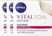 Nivea Visage Dagcreme Multi Active Voordeelverpakking