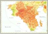 Kaart Atlas van het bijbelse continent - Genezen als de weg van de messias