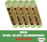 Dumil Biozak 20 Liter 45x50cm - 5 Rollen van 10 Zakken - Voordeelverpakking