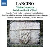 Violin Concerto; Prelude And Death Of Virgil
