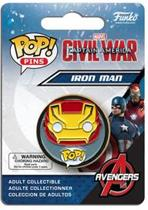 Funko Pop Pins Captain America Civil War Iron Man