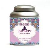 Infinity | fruitmelange | 110g | losse thee in theeblik