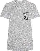 Bones Sportswear Dames T-shirt Basic Grey maat L