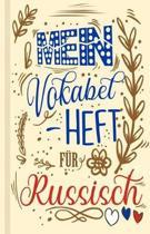 Russisches Vokabelbuch - Mein Vokabelheft f r Russisch (Lernhilfe)