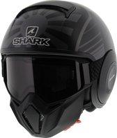 Shark Street Drak Zarco Malaysian Gp Kaa Mat Zwart Antraciet Jethelm - Motorhelm - Maat XL
