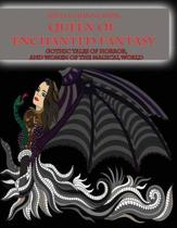 Adult Coloring Book Queen of Enchanted Fantasy Gothic Tales of Horror