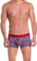 Mundo Unico - Heren Feeling Boxershort Rood Blauw - XL